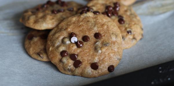 Sweet Potato Protein Chocolate Chip Cookies - PaleOMG