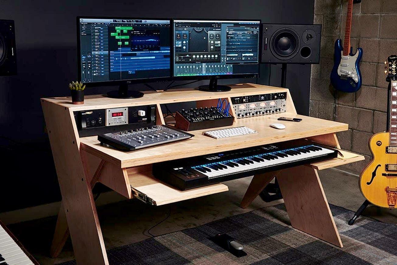 Icon Picks 10 Best Studio Desks For Music Production Icon Collective In 2020 Studio Desk Music Studio Room Studio Desk Music