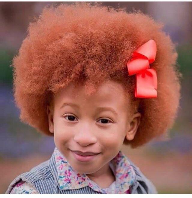 Ginger. Afro red head. Natural red head. Ginger kids. Ginger natural.