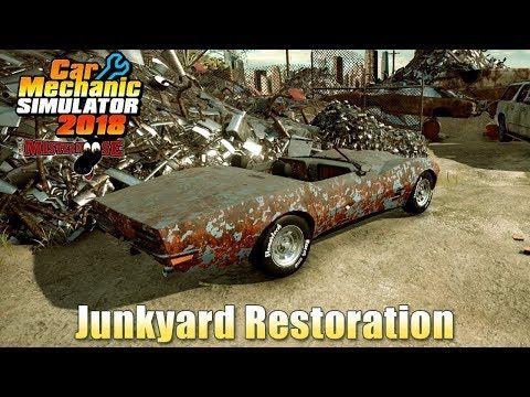 Car Mechanic Simulator 2018 Junkyard Restoration Corvette Part 1