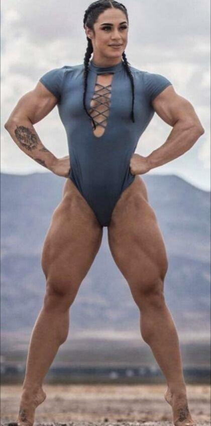 Muscular girls foto 84