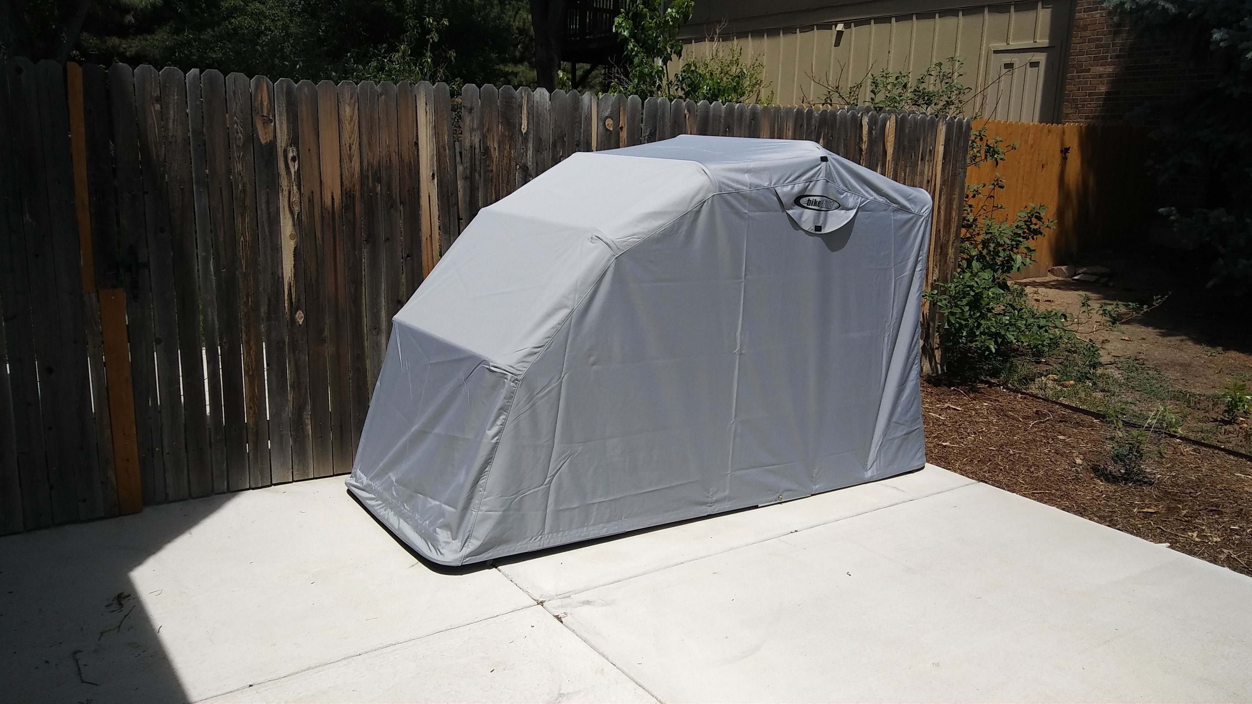 Motorcycle storage tents 10 best motorcycle storage - Motorcycle foldable garage tent cover ...