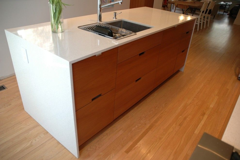 Teak Modern Kitchen Cabinets | Teak Kitchen Cabinets Kitchen Modern With