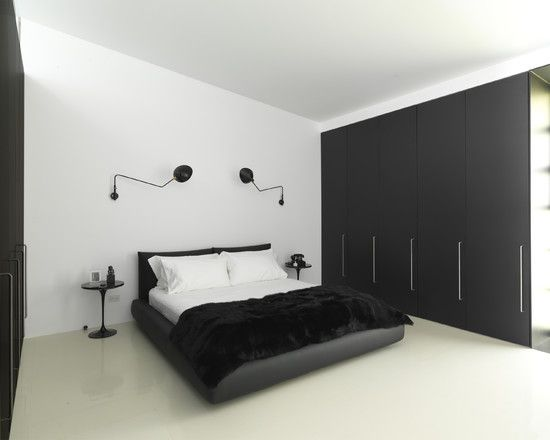 Complete Your Modern Bedroom With Temporary Wardrobe Storage: Stunning  Temporary Wardrobe Storage Black Cabinet Wall