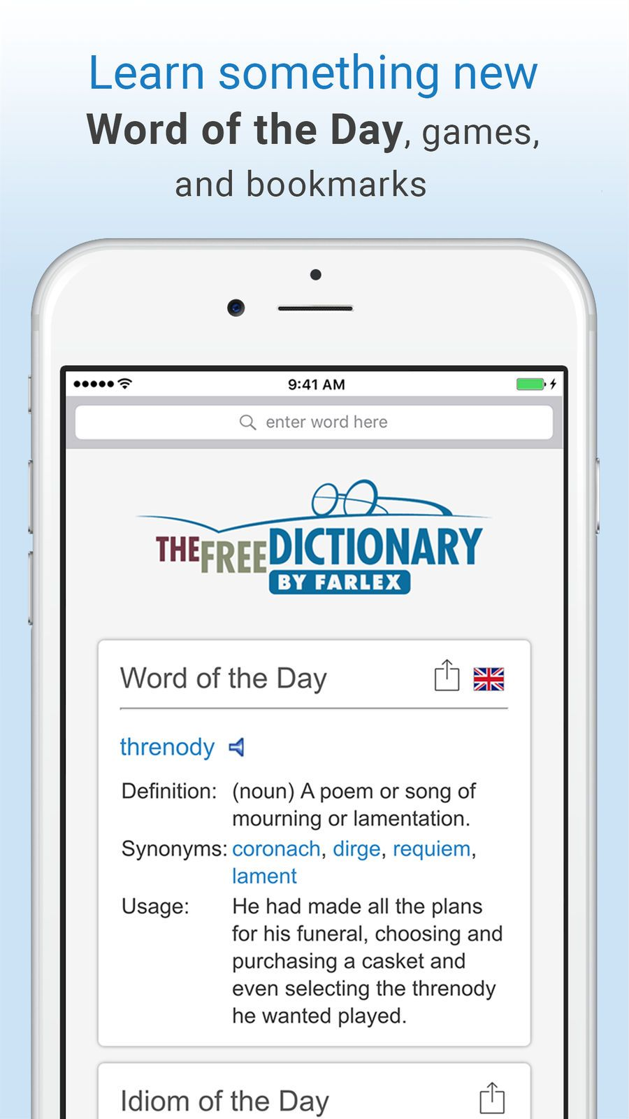 Dictionary and Thesaurus Pro EducationReferenceappsios