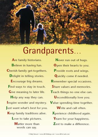 grandparents day quotes and poems | Grandparents Day ...