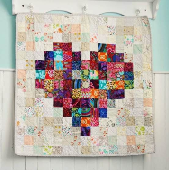 Pretty baby quilt idea - does the original pinner have the name or link to the pattern?