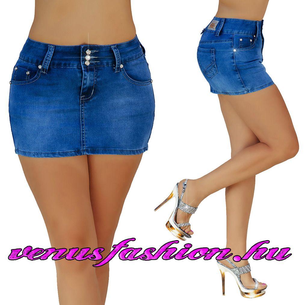 97bb9fb924 Sexy farmer mini szoknya XS S M L XL méretekben - Venus fashion női ruha  webáruház