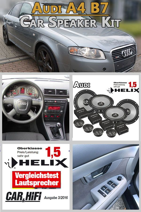 audi a4 b7 pair front and rear door speaker high quality. Black Bedroom Furniture Sets. Home Design Ideas