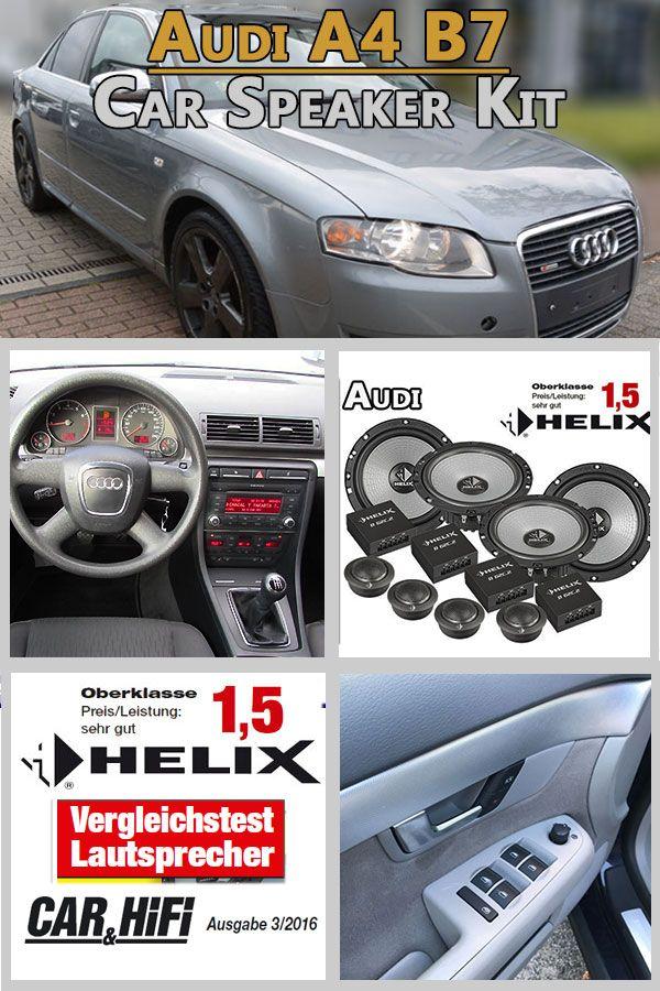Audi A4 B7 Pair Front And Rear Door Speaker High Quality Kit Car Hifi Radio Adapter Eu Audi A4 B7 Pair Front And Rear Door Speaker Hi Audi A4 Audi A4