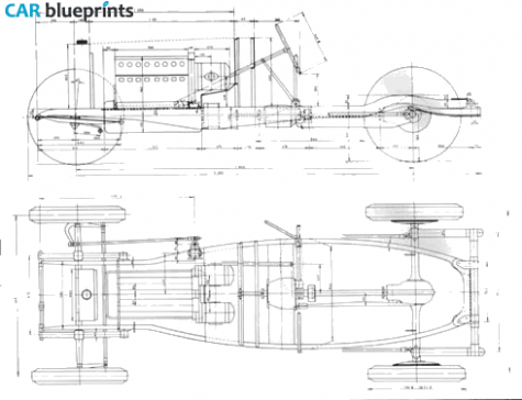 1929 bugatti type 45 chassis cabriolet blueprint subaru bugatti type 45 chassis blueprints vector drawings clipart and pdf templates malvernweather Choice Image