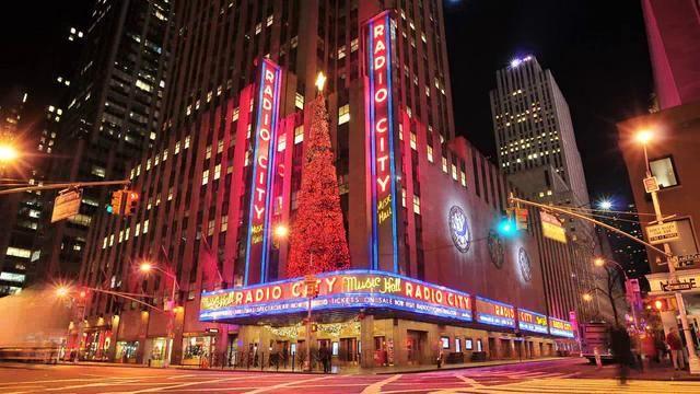 Hd Time Lapse Of New York S Radio City Music Hall Exterior Radio City Radio City Music Hall Radio
