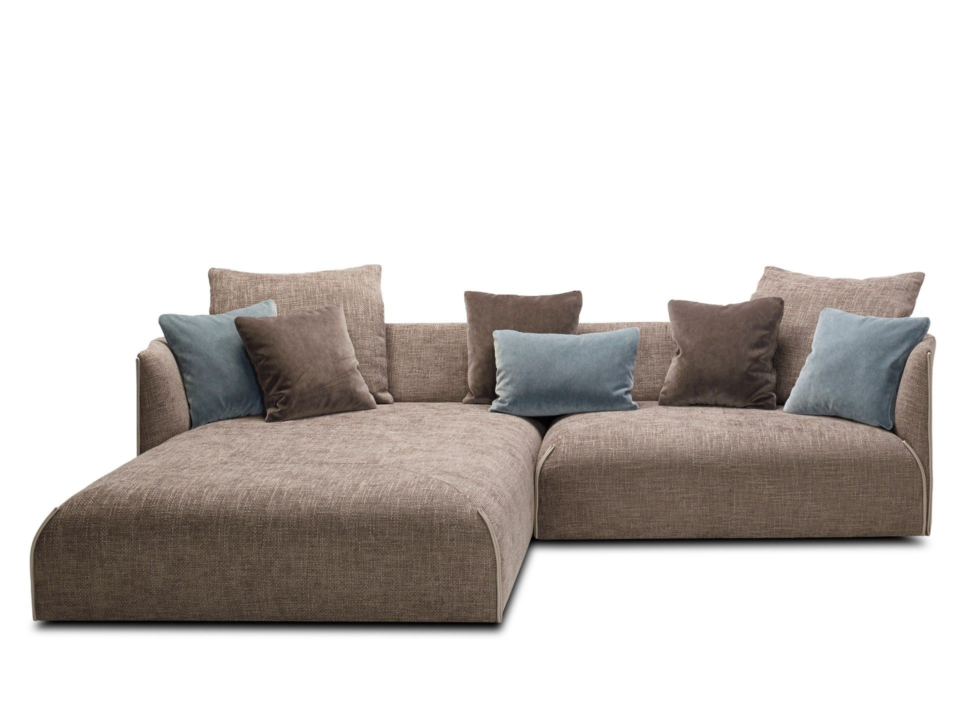 Download The Catalogue And Request Prices Of Gitano By Jori Fabric Sofa With Chaise Longue Design Jean Pierre Audeber Sofa Material Fabric Sofa Sofa Furniture