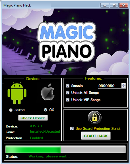 magic piano smoola hack android