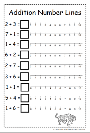 Addition with the Number Line