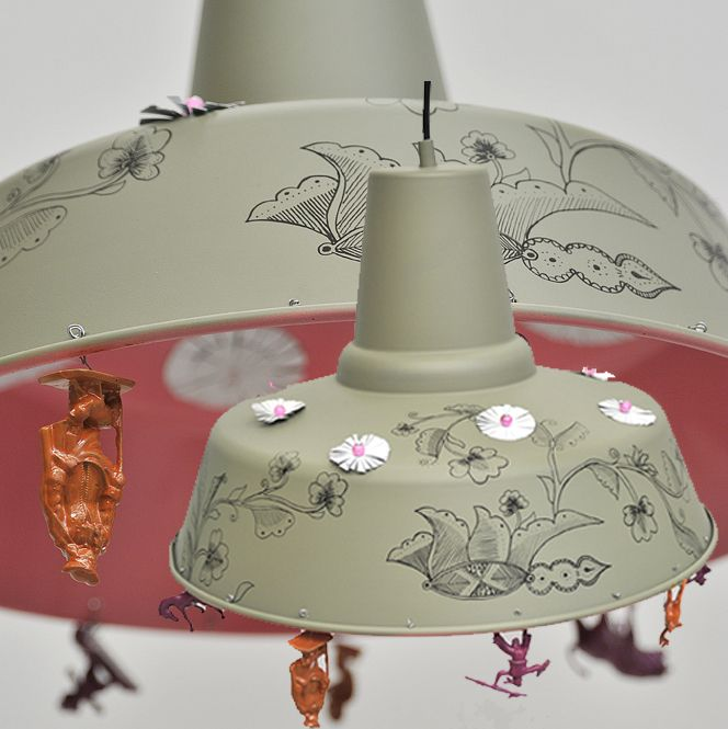 valorisation cr ative sur du luminaire par l 39 atelier d 39 co solidaire lights lamps and. Black Bedroom Furniture Sets. Home Design Ideas