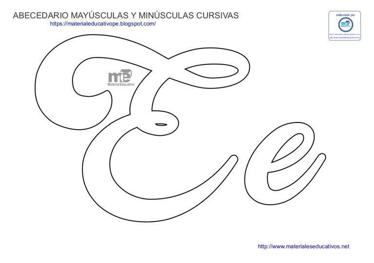 Moldes De Letras Cursivas Mayúsculas Y Minúsculas Molde Letra M Moldes De Letras Letras Do Alfabeto Para Impressão
