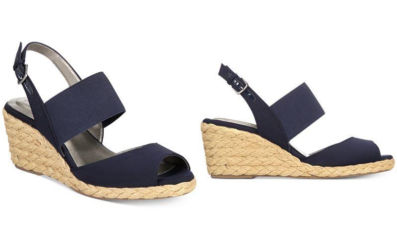 b8883e97fb0 Bandolino Himeka Espadrille Wedge Sandals, Created for Macy's ...