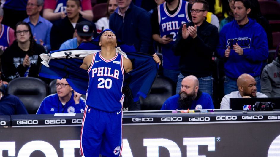 No. 1 pick Fultz scores 10 points in 1st game since