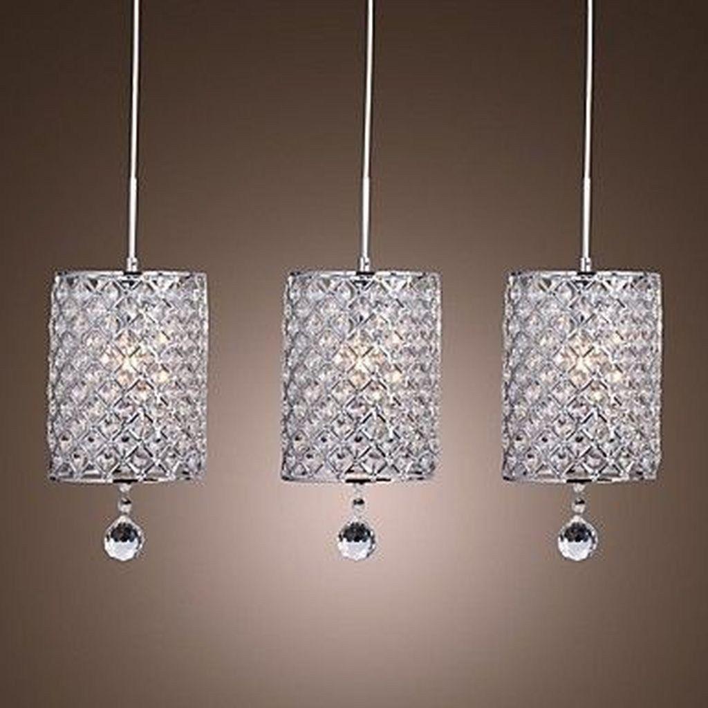 44 Beautiful Crystal Pendant Lighting Design Ideas Trendehouse Drop Pendant Lights Crystal Pendant Lighting Metal Pendant Light