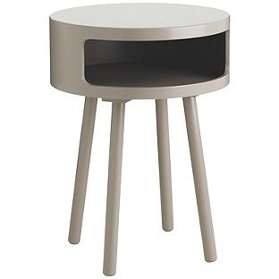 Buy Habitat Bumble Side Table - Grey at Argos.co.uk, visit Argos.co.uk to shop online for Occasional and coffee tables