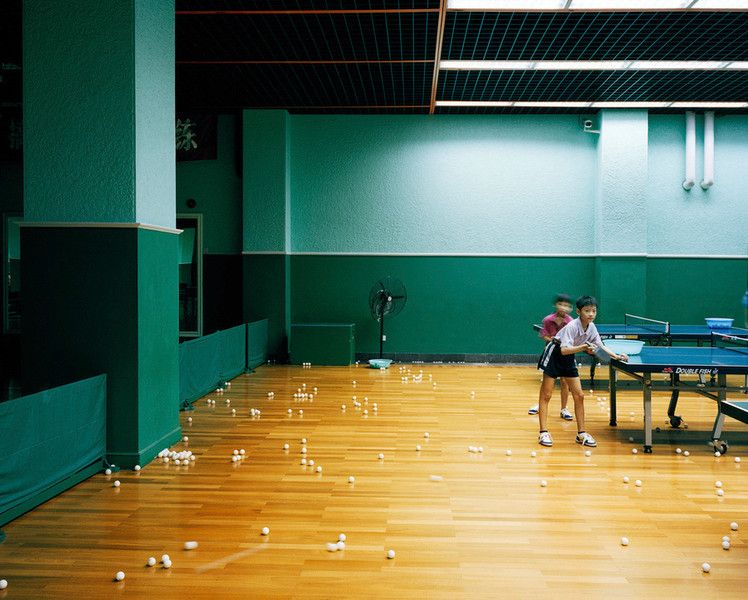 Yves Gellie - Center for young gifted sportsmen. Beijing city, 2005.