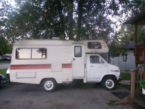 1982 Chevrolet Rv White Glendale Certified Or Trade Rvs Motorhomes Barrie Kijiji Kijiji Glendale Rv
