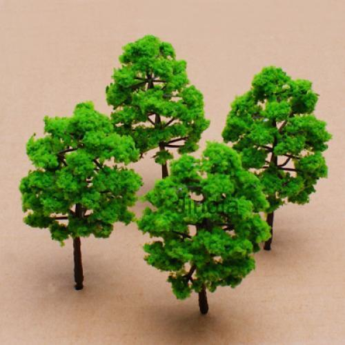 $361 - 10Pcs Model Tree Train Set Plastic Trunks Garden Park