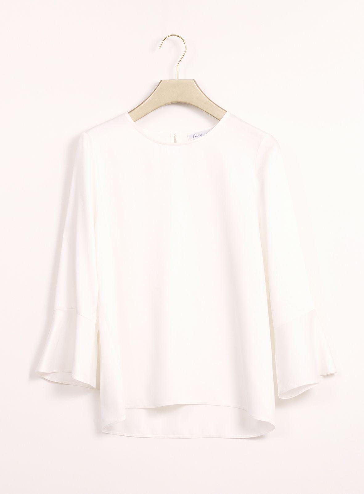 l'amour est bleu - Bluse Viola - Modern sustainable fashion - www.lamourestbleu.com
