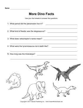dinosaur facts school dinosaurs dinosaur facts facts worksheets. Black Bedroom Furniture Sets. Home Design Ideas