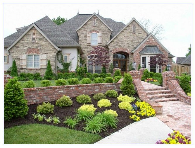 Delightful Front Yard Landscaping Ideas Low Water Part - 13: Explore Simple Garden Designs And More! Front Yard Low Water Landscape ...