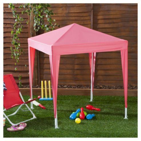 Tesco Kids Gazebo Pink Gazebo Craft Stalls Tesco