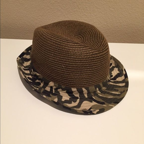 Fadora camouflage hat Stylish camouflage fadora hat. Worn only once. Bought from DILLARDS. Accessories Hats