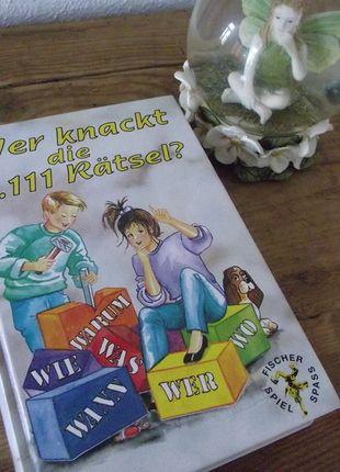 Kaufe meinen Artikel bei #Mamikreisel http://www.mamikreisel.de/spielzeug/baby-und-kinderbucher/25435761-kinder-ratsel-buch-mit-1100-ratseln