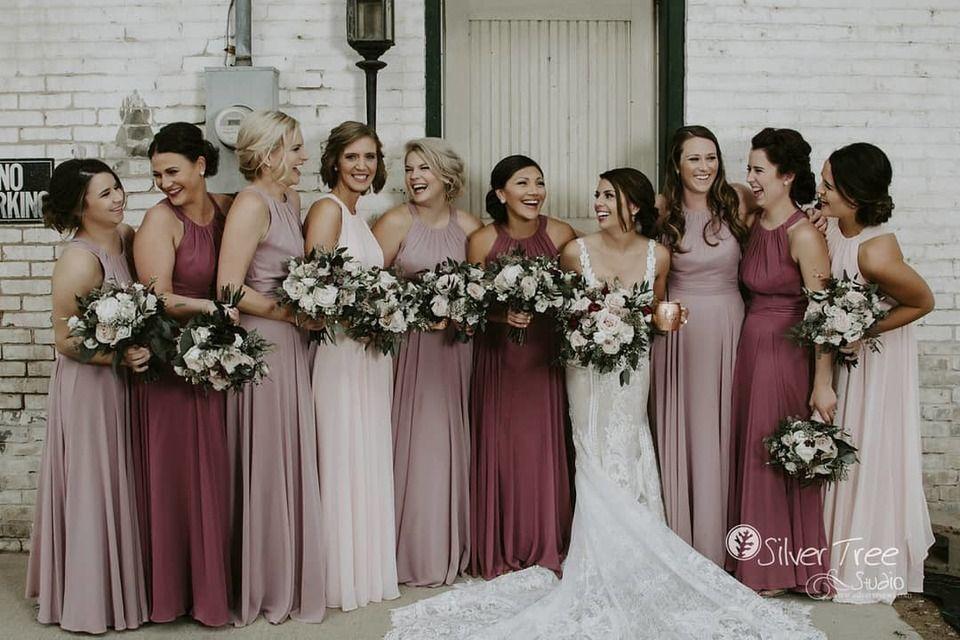 Inspiration for Pink Bridesmaid Dresses | Brideside