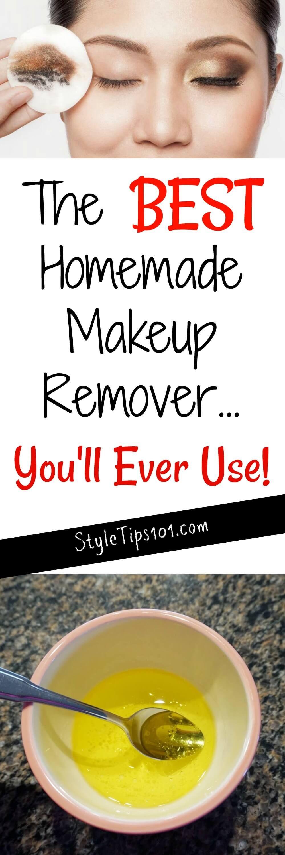 Homemade Makeup Remover Homemade makeup, Homemade makeup