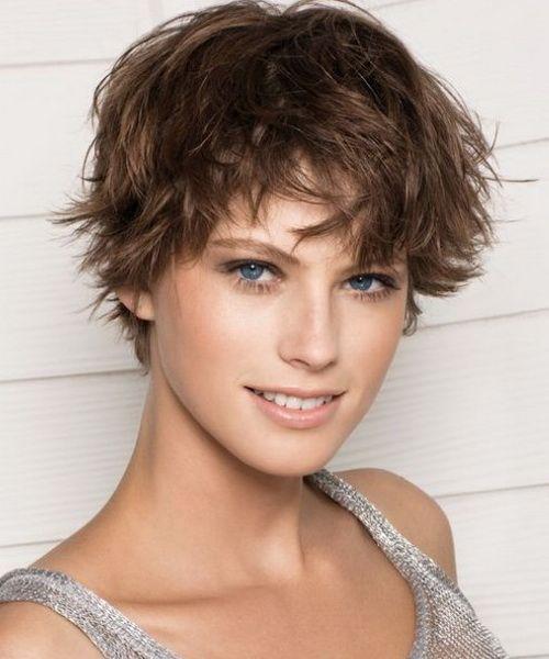 Short Hair Shaggy Short Messy Haircuts Short Hair Styles Short Choppy Hair