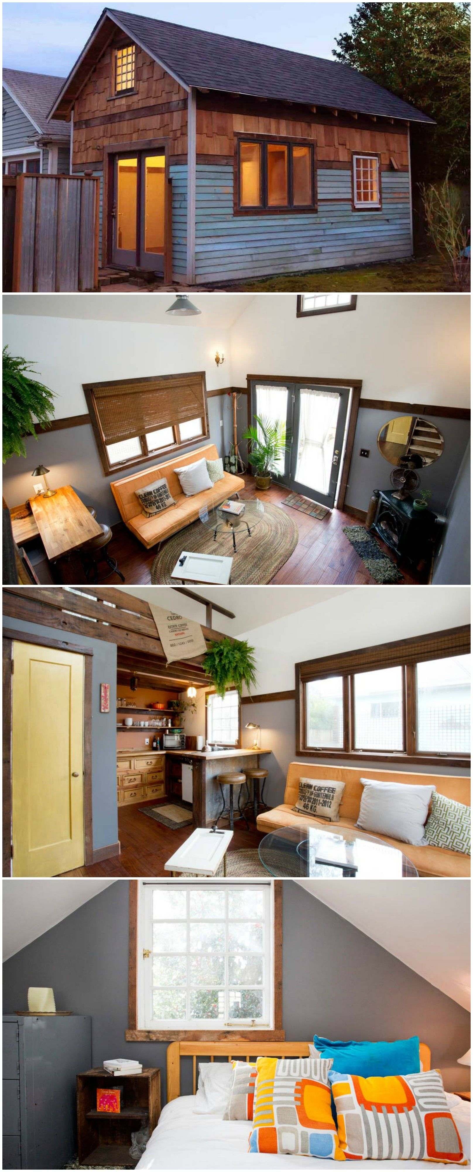 The Rustic Modern Is A Lovely Tiny House In Portland