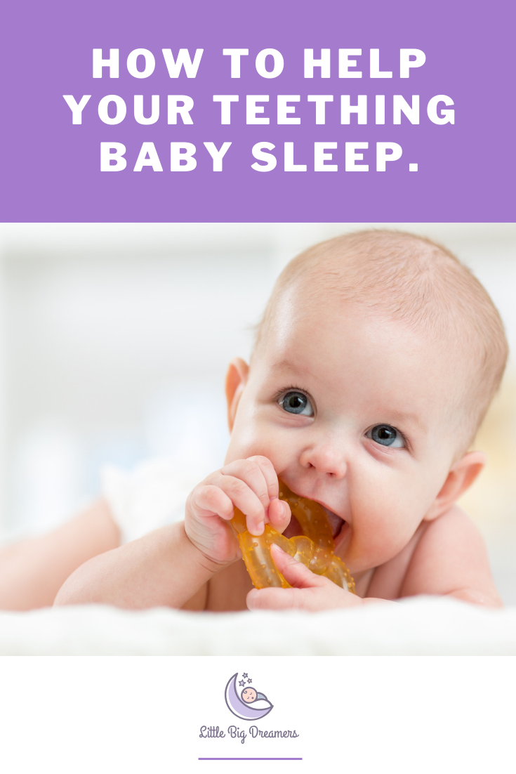 how to help teething baby