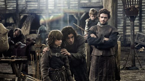 Igra Prestolov 1 Sezon 2 Seriya Korolevskij Trakt The Kingsroad Robb Stark Jon Snow Stark Brothers