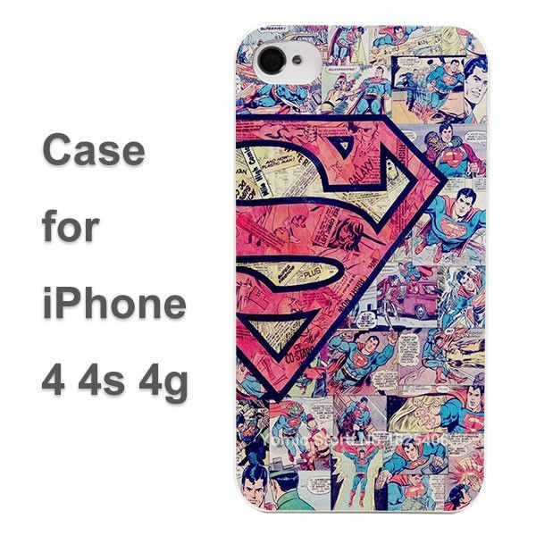 superman logo tumblr Design hard White Skin Case Cover for Apple iPhone 4 4s 4g 5 5s 5c 6 6s 6 Plus 6splus