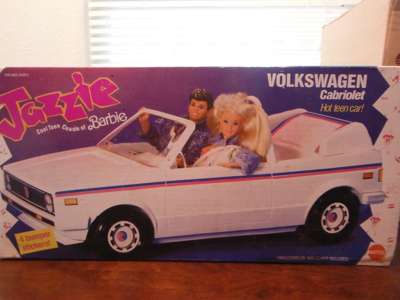Jazzie's Volkswagen Cabriolet by Mattel, 1988