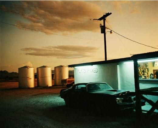 Photographs From Places Strange And Quiet By Wim Wenders