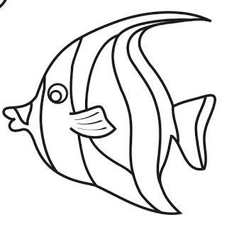 Cocukla Cocuk Olun Deniz Canlilari Cift Yonlu Boyama Sayfalari Balik Desenler