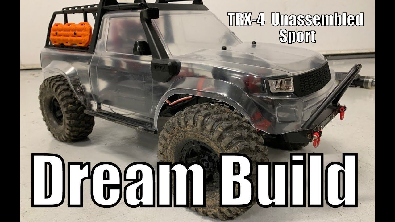 Traxxas TRX4 Sport Best Dream Build putting the mods