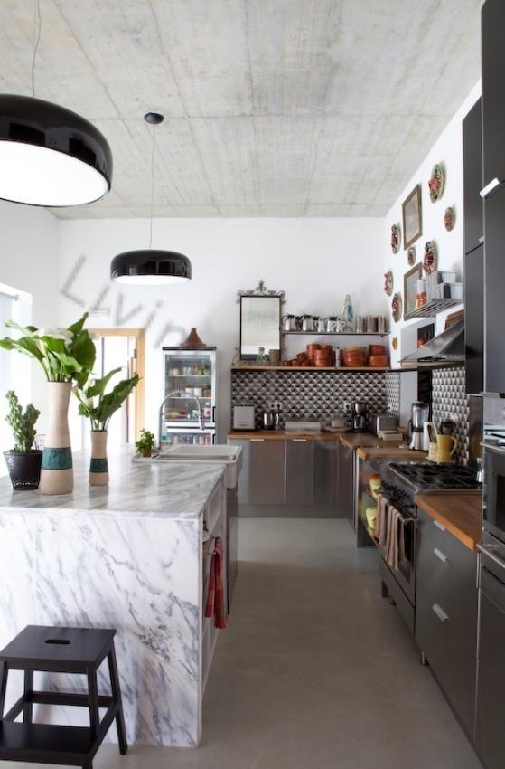 Kitchen kitchens Pinterest Leuchten, Küche und Wohnen - offene küche planen