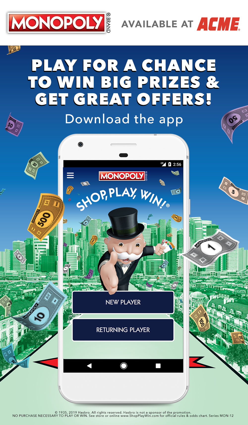 Download the just for U® app and score digital coupons for