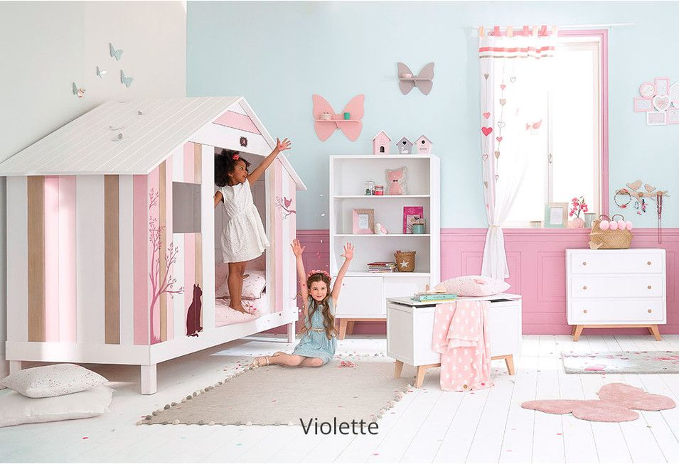 Chambre fille - Déco, styles  inspiration Maisons du Monde