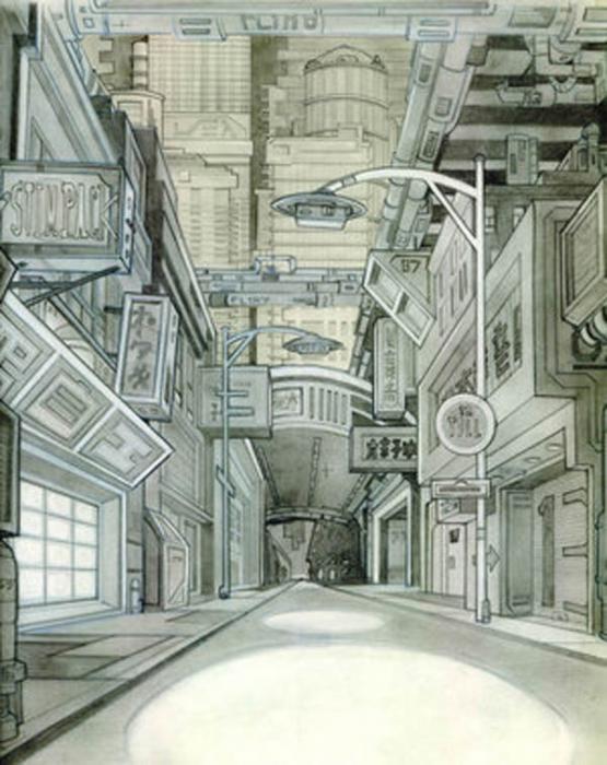 Neo Tokyo By Shantro Buck Neo Tokyo Tokyo Concept Art