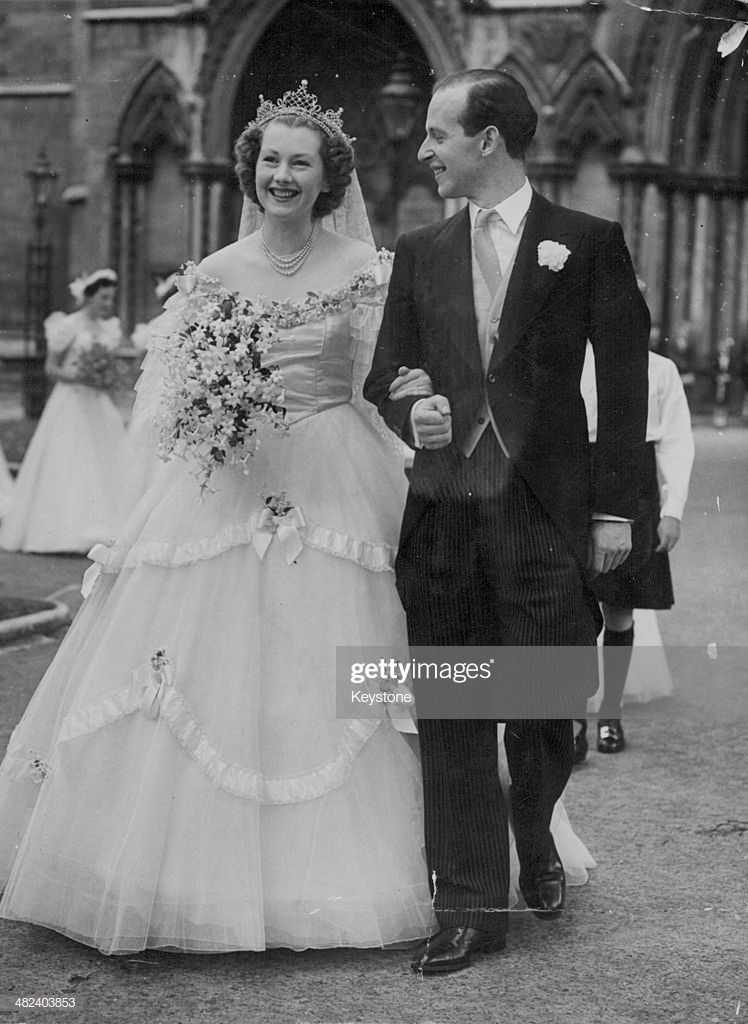 The wedding of Raine Spencer and Gerald Legge, Earl of